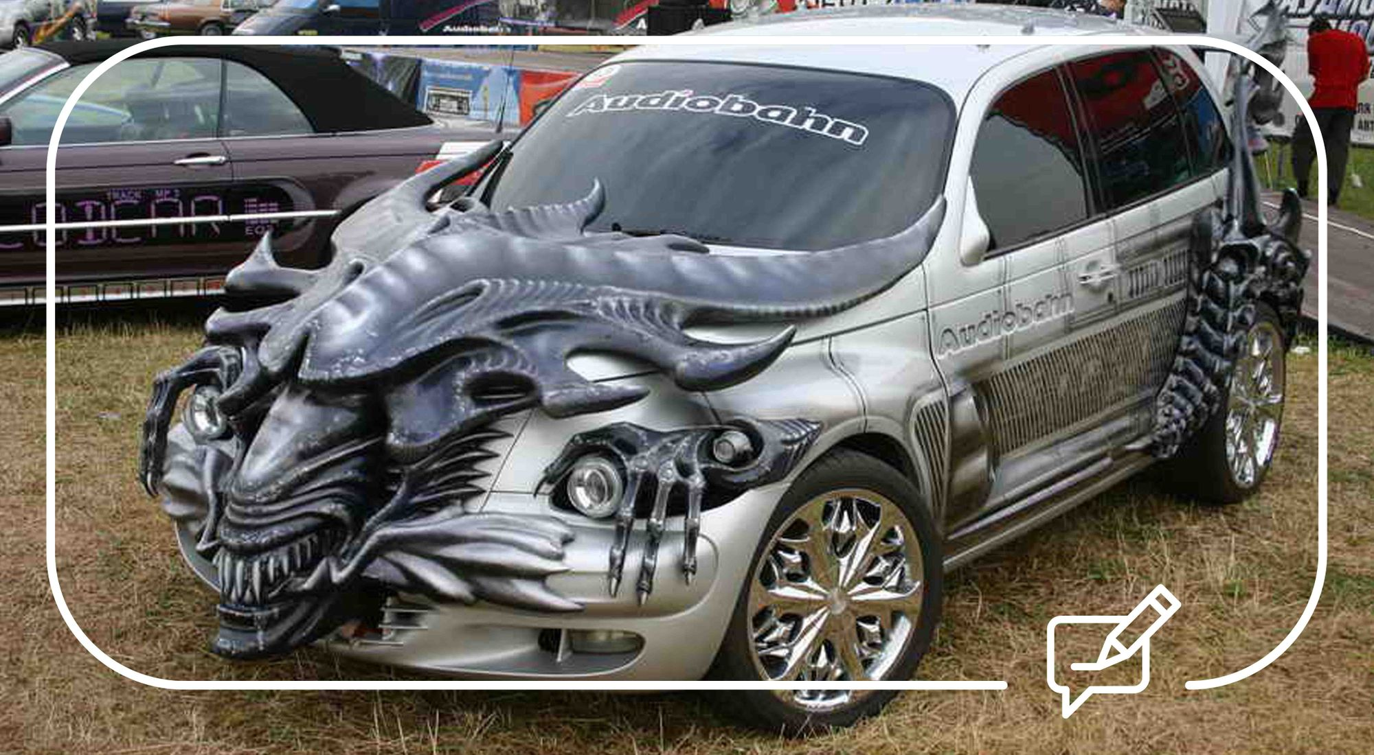 Car mods - The weird, wonderful and downright outrageous!