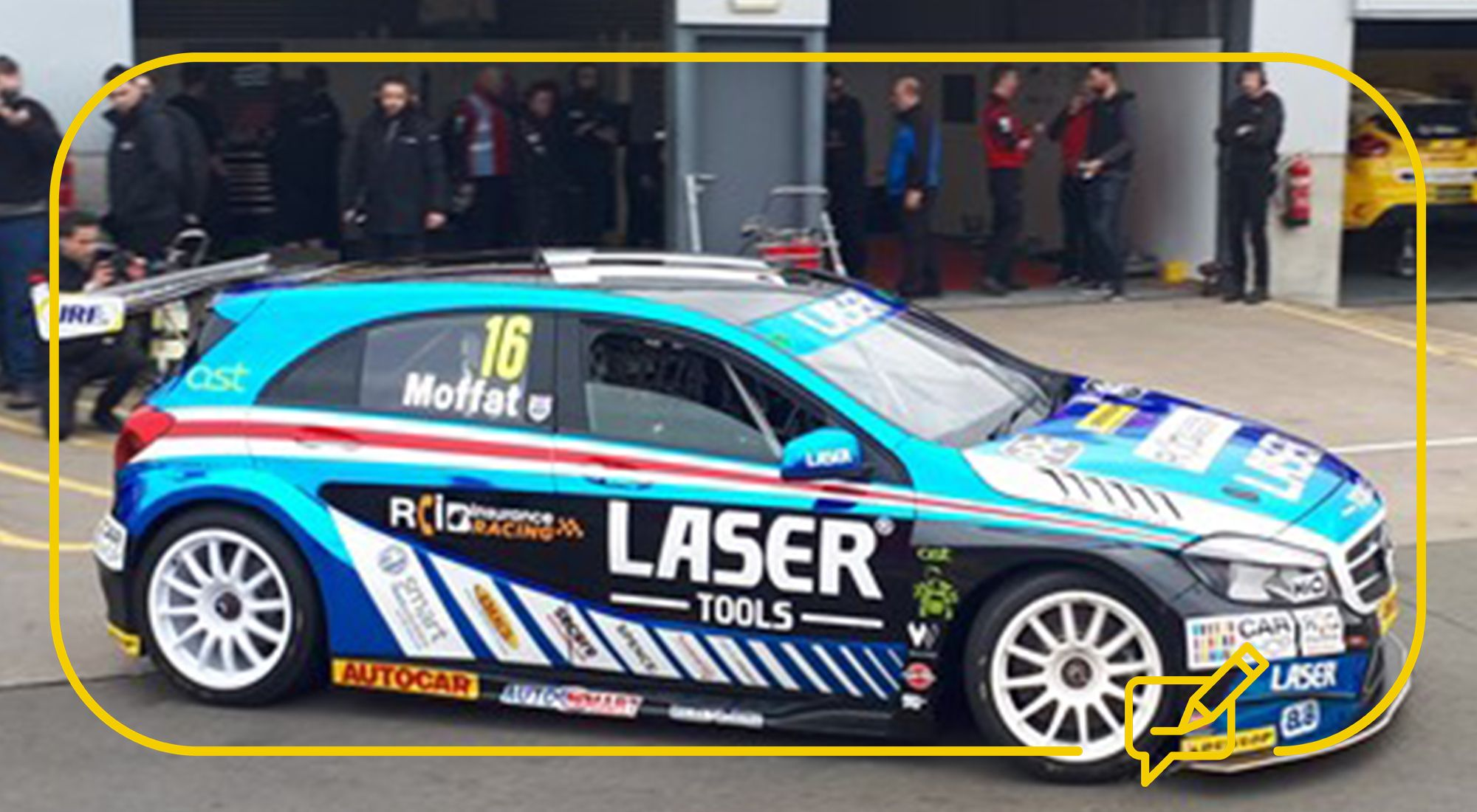 The Car Shop >> Carshop Gets A Sneak Peek At The Btcc Media Day With Aiden Moffat