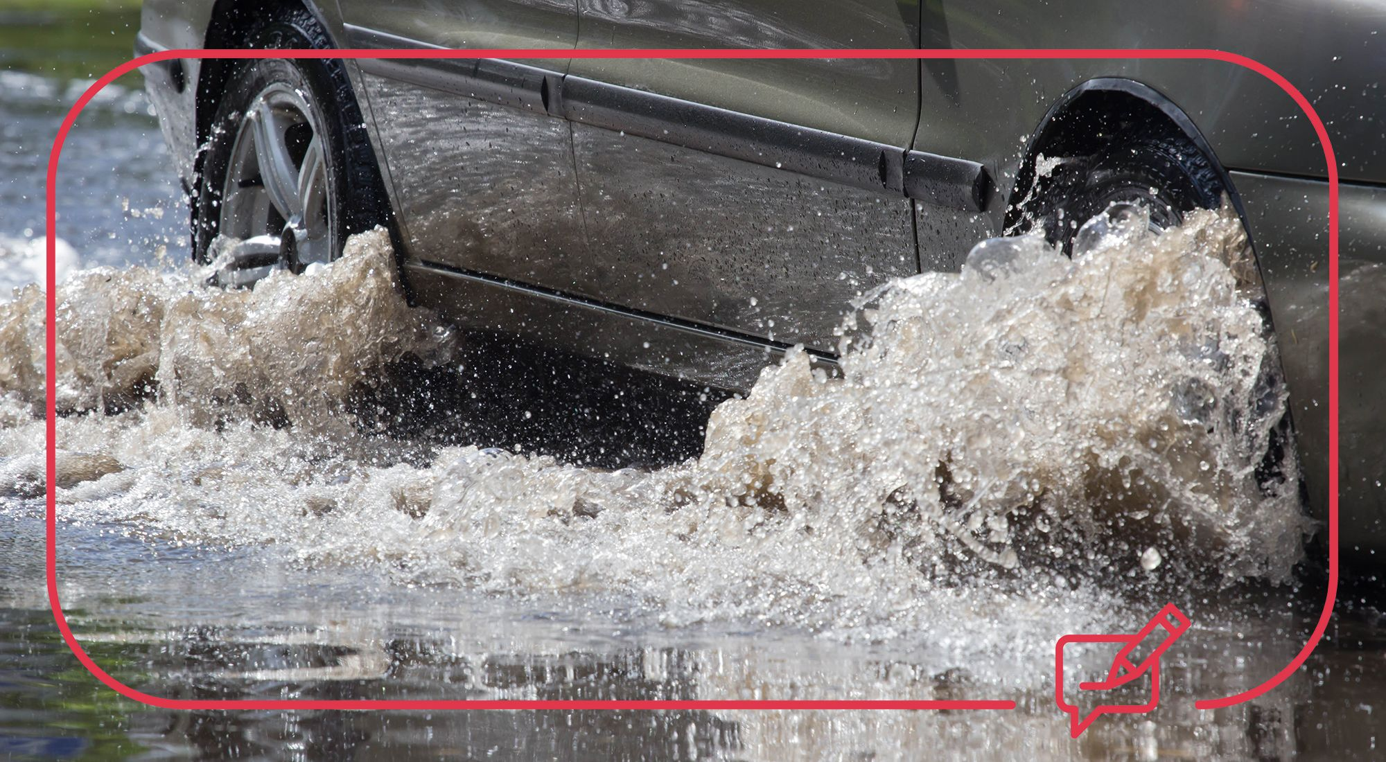 Driving in heavy rain and flood water - the top tips