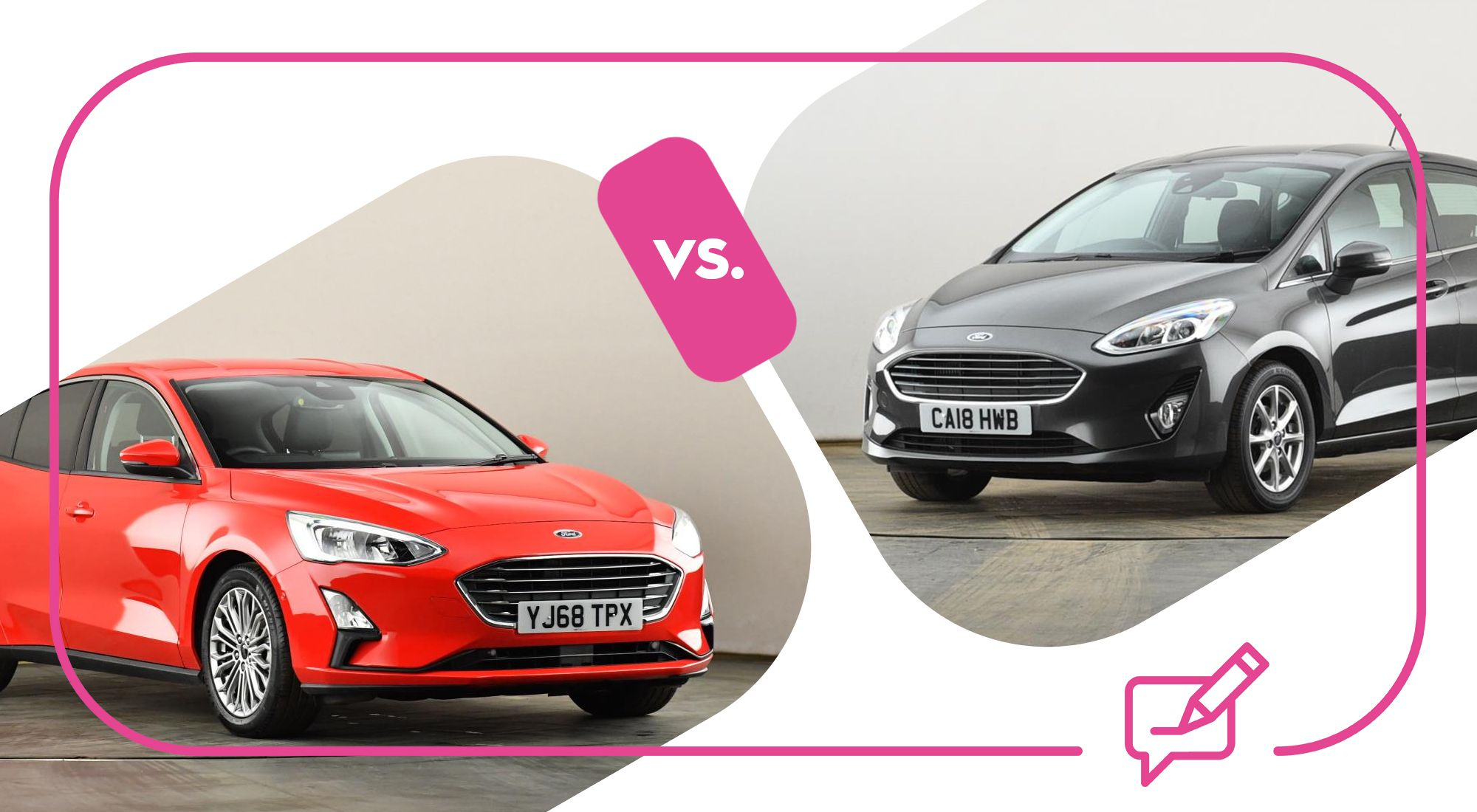 Ford Focus Vs Ford Fiesta