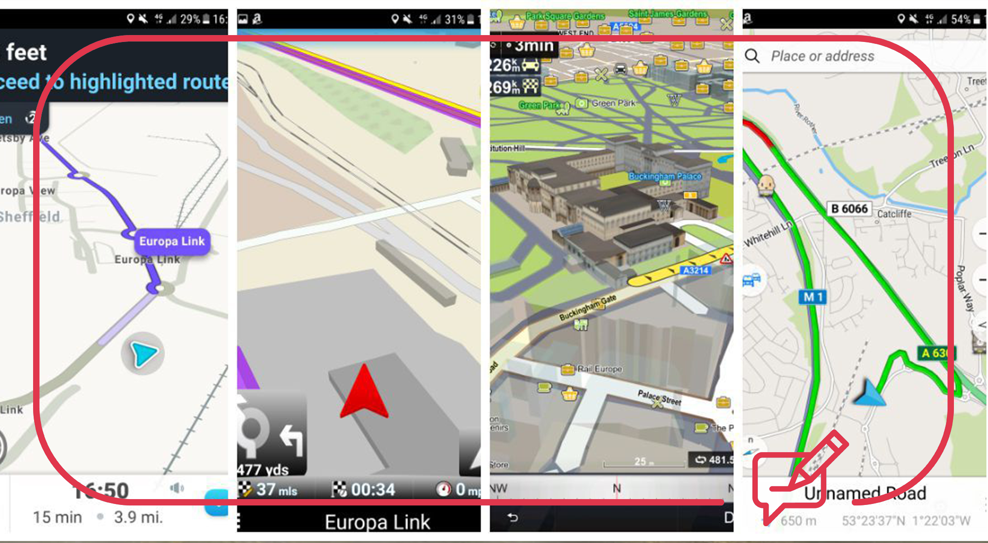 Free navigation apps for your smartphone
