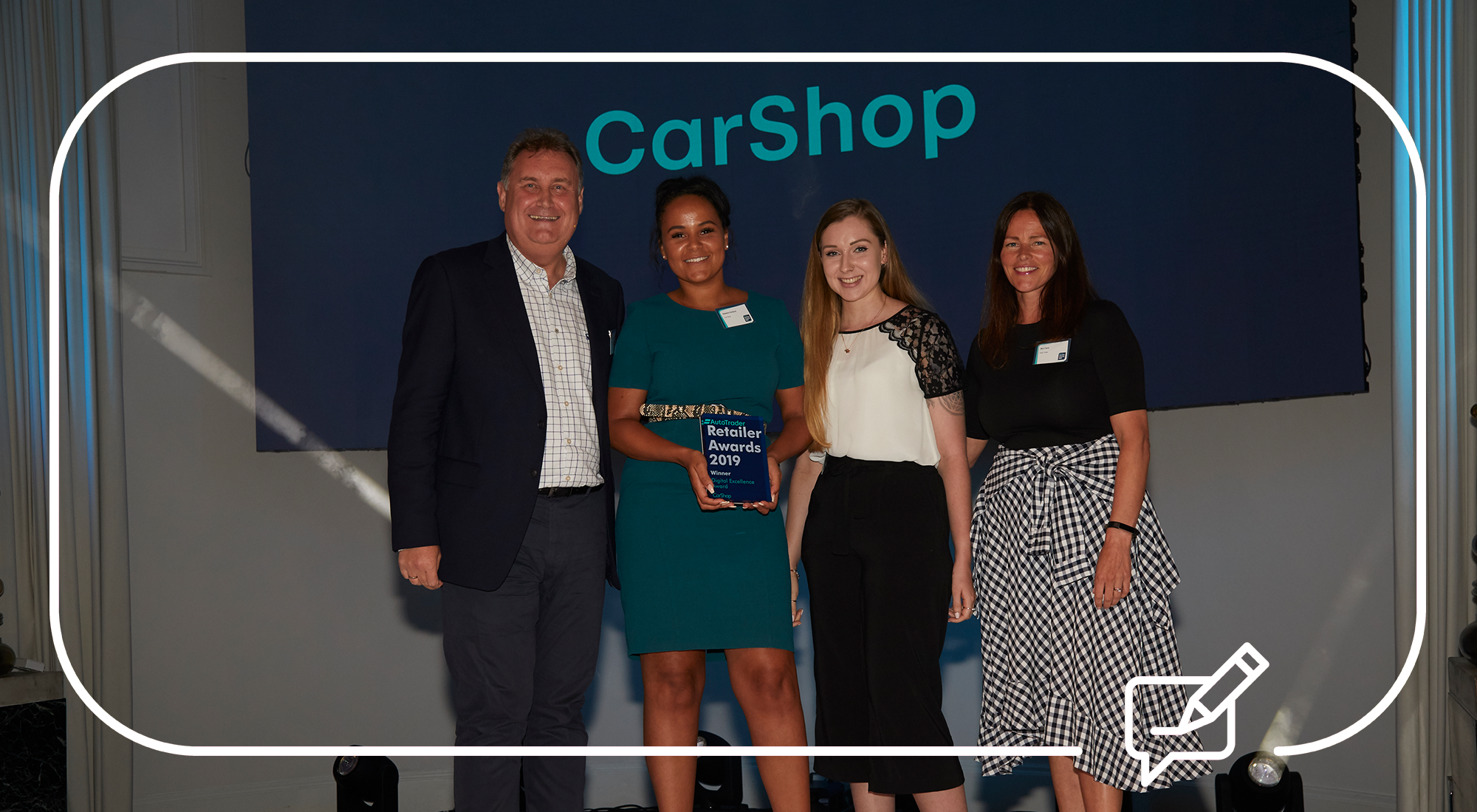 CarShop receives Auto Trader's Digital Excellence Award