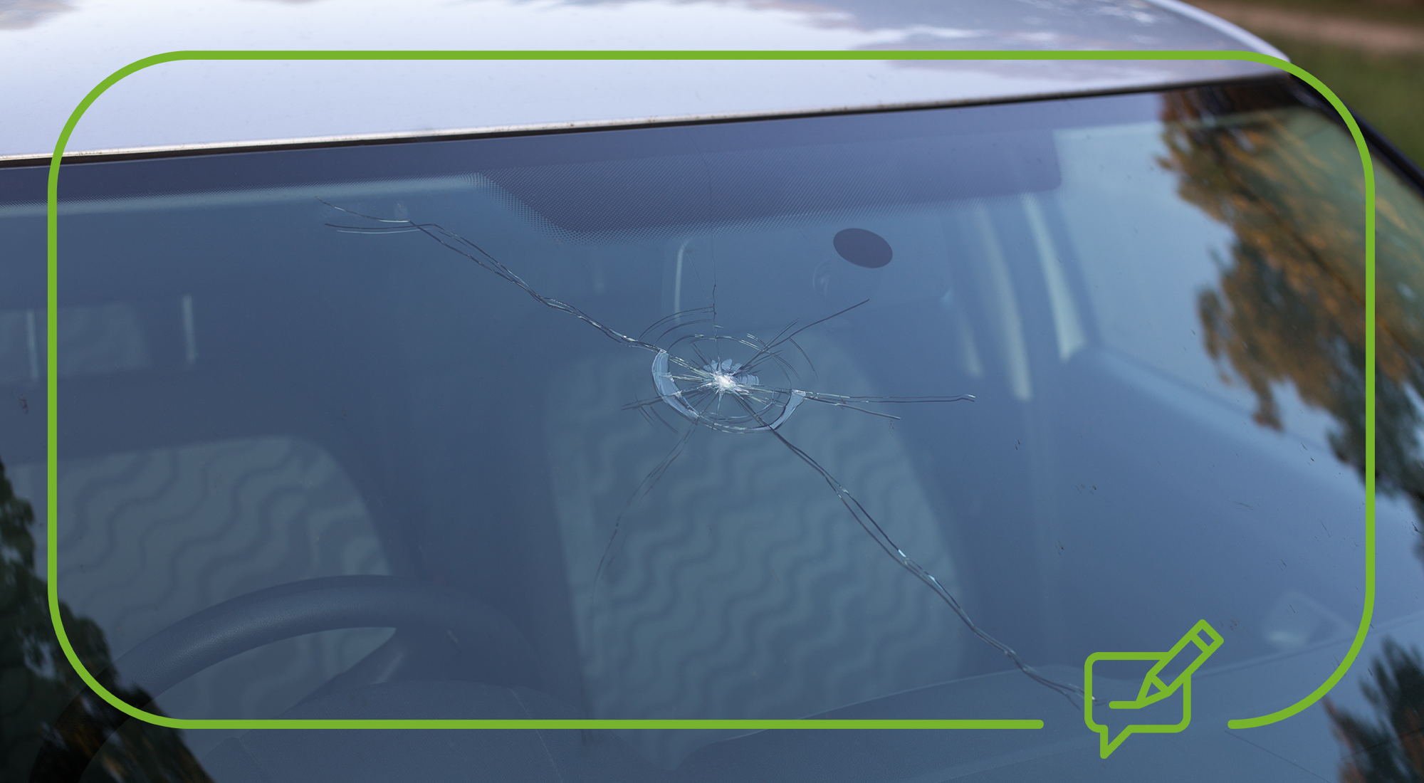 Driving with a cracked windscreen: Rules and risks explained